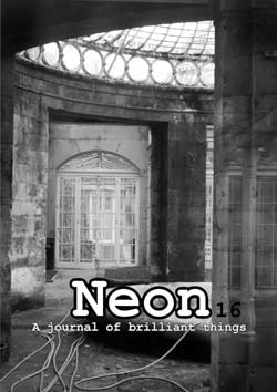 Neon Literary Magazine issue sixteen - magical realist, surreal and slipstream short stories and poetry.