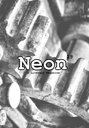 Neon Literary Magazine issue twenty-nine - magical realist, surreal and slipstream short stories and poetry.